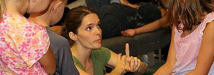 Chiropractor Brighton MI Melissa Osborn with Kids