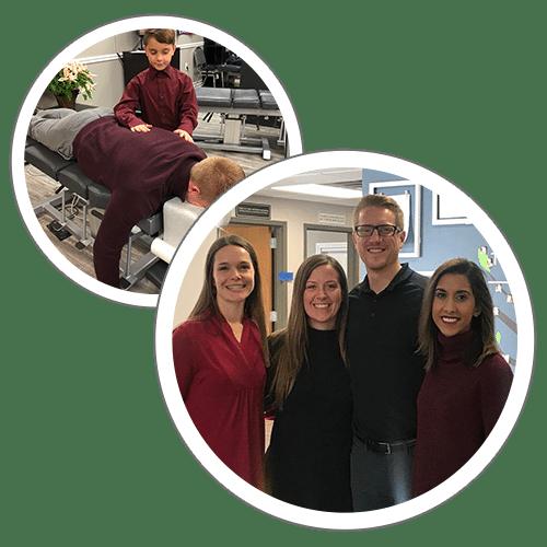 Chiropractors Brighton MI Melissa Osborn, Kyle Conn, and Navpreet Saini
